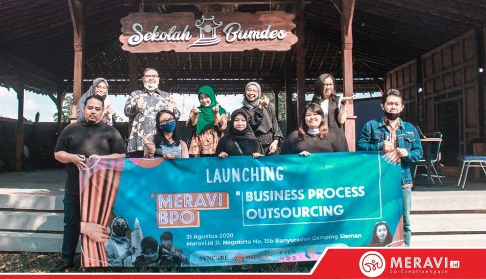 Launching Meravi Business Process Outsourcing (BPO) dan Customers Service