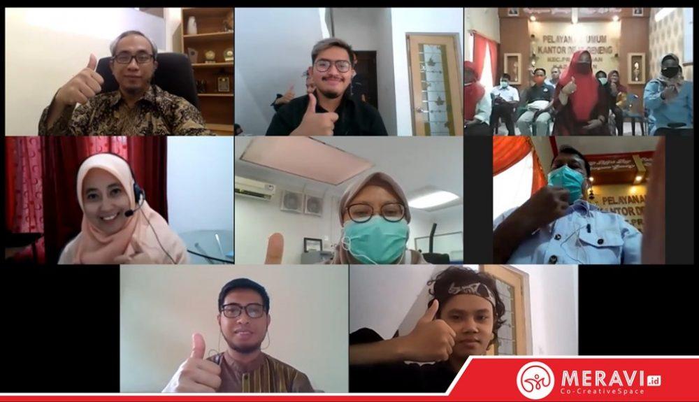Training Online Penguatan Produk dan Digitalisasi Pemasaran Rumah Tempe Srikandi Geneng
