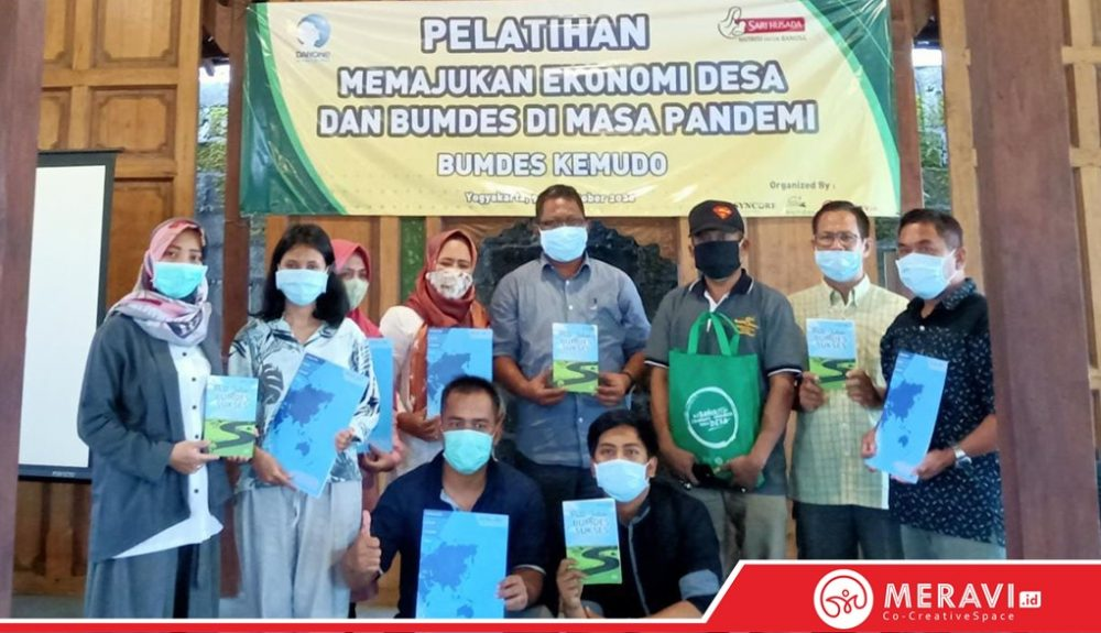 Workshop Memajukan Ekonomi Desa dan BUMDes di Masa Pandemi BUMDES Desa Kemudo Klaten